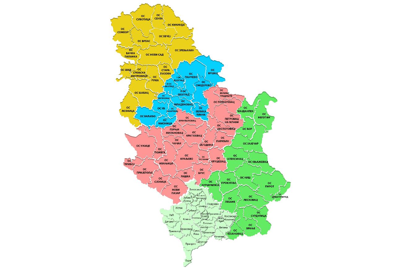 Правосудна мапа